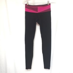 Lululemon Pink Black Legging